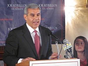 Joe Kyrillos announces his candidacy for US Senate