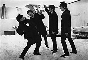 The Beatles Photo by Central Press