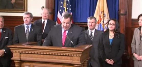Christie press conference 2/14/12