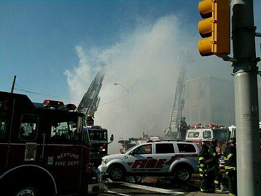 Long Branch fire