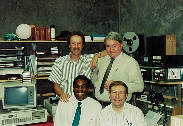 101.5 Newsroom 1991