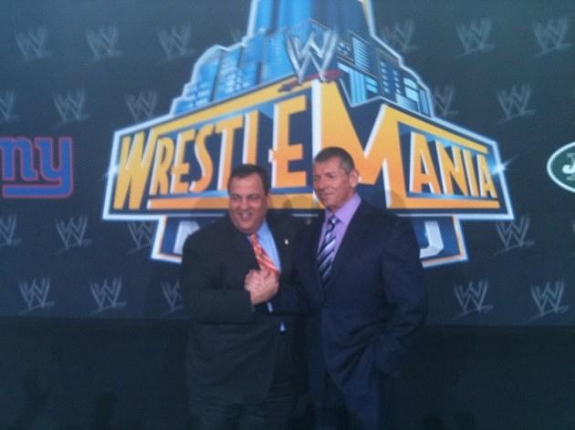 Christie & Vince McMahon