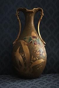 Trenton Pottery vase