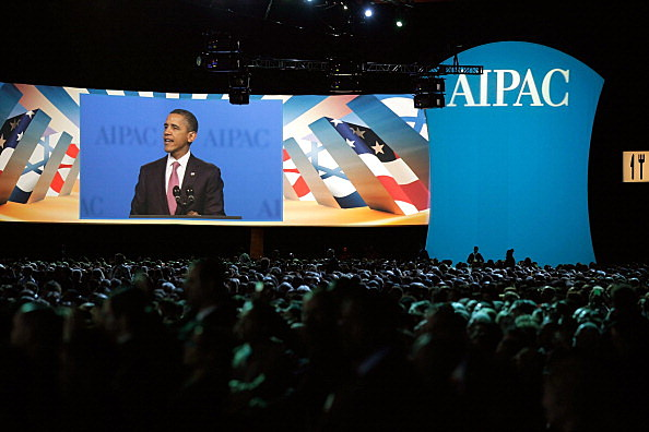 Obama Addresses AIPAC Policy Conference