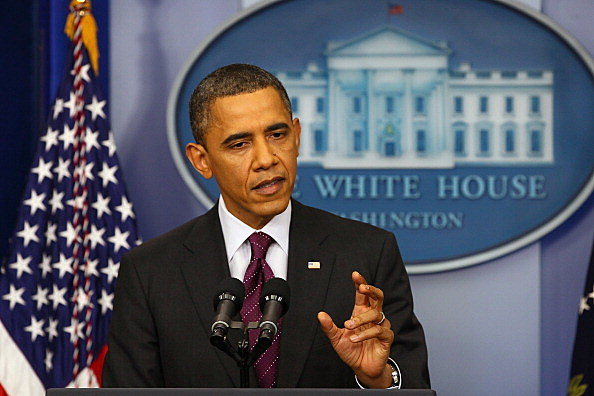 President Obama holds his first news conference of the year at The White House