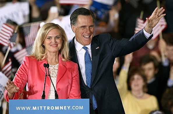 Mitt Romney celebrates Super Tuesday wins in Boston