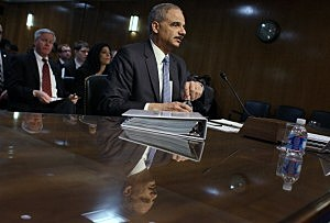 Attorney General Eric Holder Testifies before Senate Appropriations Committee hearing