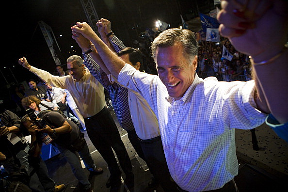 Mitt Romney campaigns in San Juan, Puerto Rico