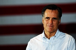 GOP Candidate Mitt Romney Campaigns In Arbutus, Maryland