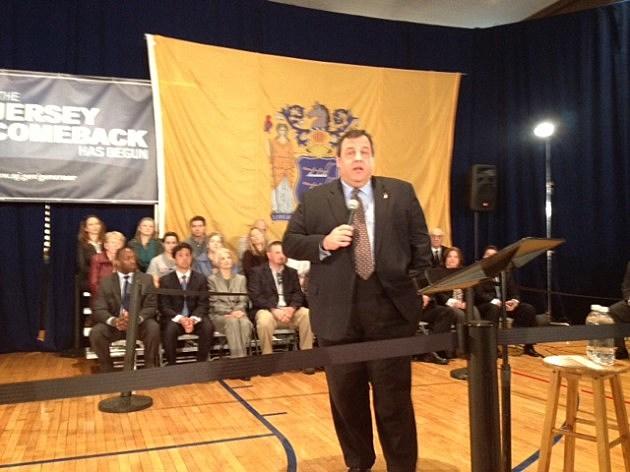 Governor Christie in Kearny