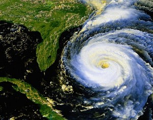 Hurricane satellite picture