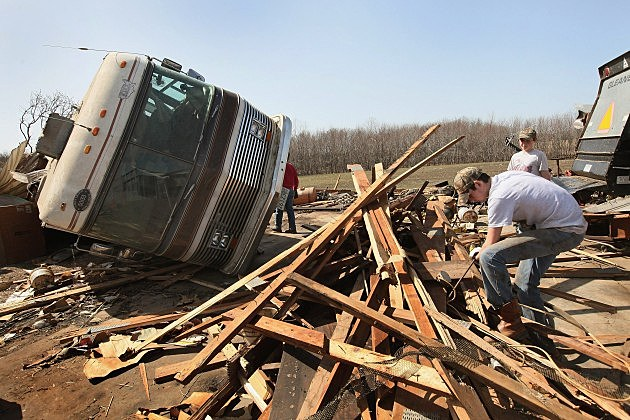 Illinois Residents Cope With Aftermath Of Deadly Tornado Outbreak