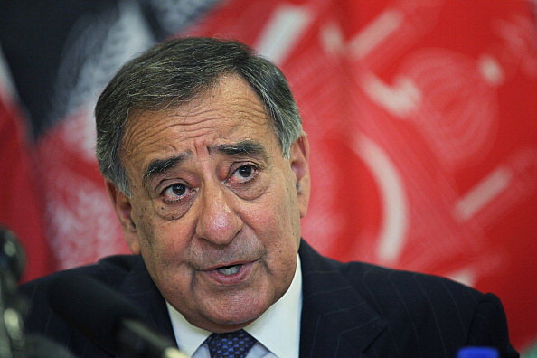 U.S. Secretary of Defense Leon Panetta Meets With Afghan President Karzai