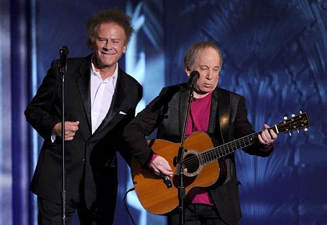 Simon and Garfunkel Photo by Kevin Winter
