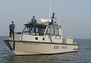 State Police boat Dauntless