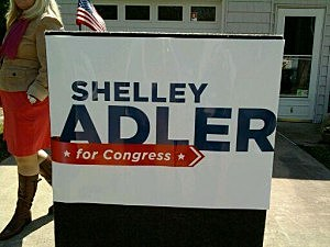Shelley Adler campaign sign