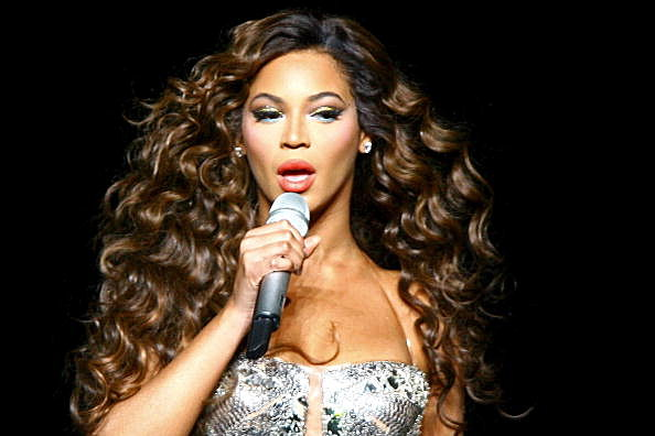 Beyonce In Concert At Madison Square Garden