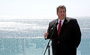 Governor Chris Christie At Revel