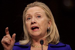 Secretary of State Hillary Clinton Testifies On International Affairs Budget For 2013