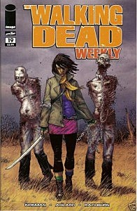 "Michonne is shown on the cover of ""The Walking Dead"" comic book (eBay)"