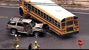 Galloway school bus crash