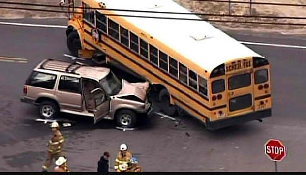 School Bus Accident In Atlantic County Video