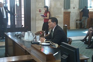 Phillip Kwon before the Senate Judiciary Committee