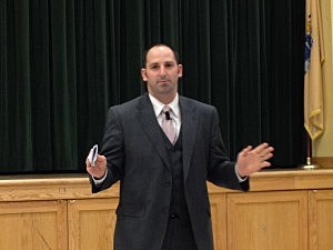 Long Branch Superintendent Michael Salvatore