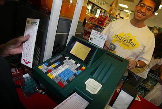Lottery ticket buyers