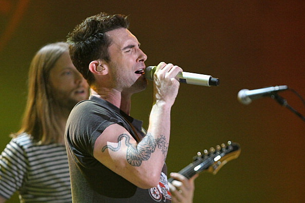 Lead Singer Adam Levine of Maroon 5