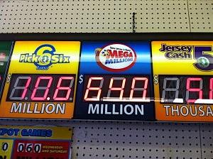 Mega Millions jackpot at $640M