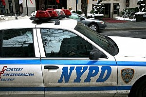 New York City Police Department Car