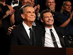 Dick Clark and Ryan Seacrest