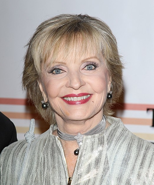 Florence Henderson on with Dennis and Judi