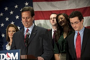 Rick Santorum suspends campaign