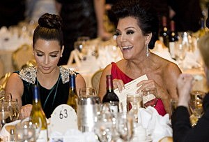im Kardashian and Kris Jenner attend the 2012 White House Correspondents' Association Dinner