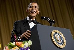 President Obama at 2012 White House Correspondents' Association Dinner