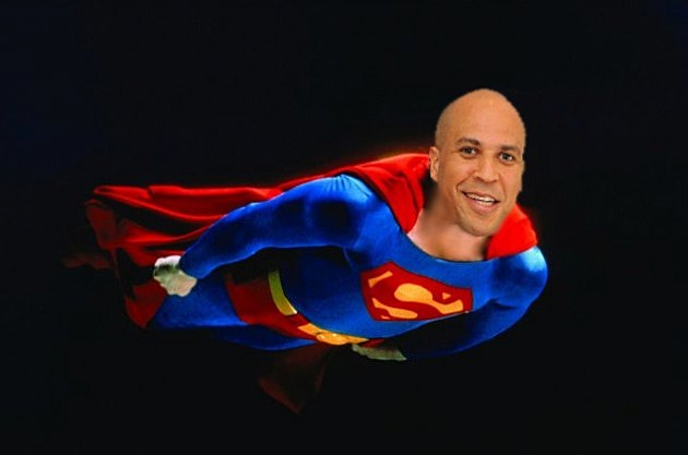 Superman is Cory Booker
