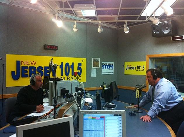 Dennis Malloy and Governor Chris Christie