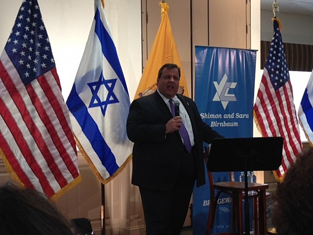 Governor Christie back from trip to Israel