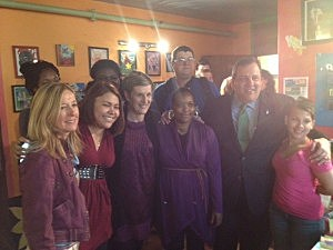 Governor Christie visits HomeFront in Ewing