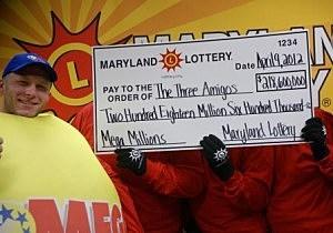 Maryland Mega Millions winners