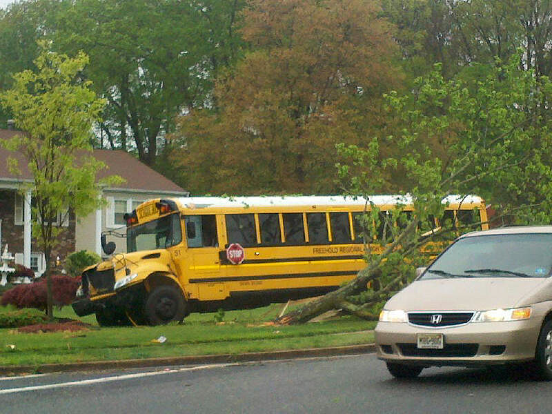 Another Nj School Bus Crash From The Newsroom