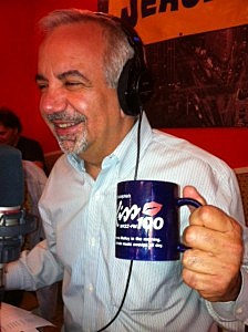 Dennis and a coffee mug from his past
