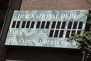 National Debt Clock Keeps Ticking As Congress, President Debate Deficit