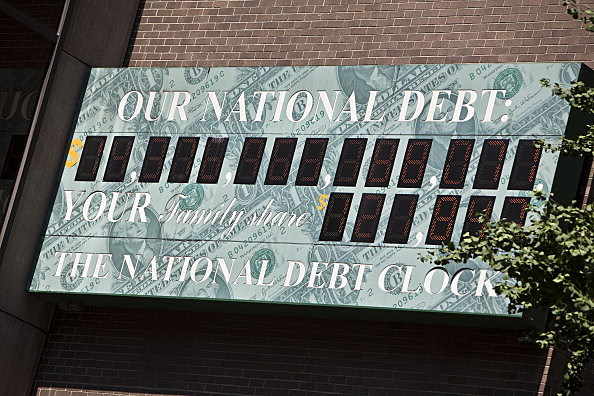 National Debt Clock Keeps Ticking As Congress, President Debate Deficit