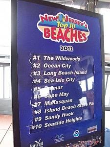 2012 Top 10 Beaches