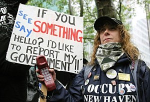 Occupy Wall Street movement protests on May Day