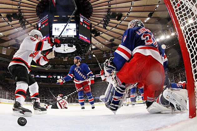New Jersey Devils v New York Rangers - the Playoffs