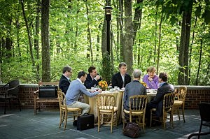 World leaders attend G8 Summit hosted by Presiden Obama At Camp David